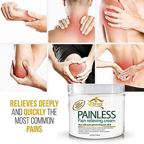 Painless - Pain Relieving cream for Arthritis, Muscle Pains, Carpal Tunnel & more! (Original Version)
