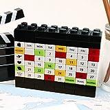 DIY Building Blocks Desktop Calendar