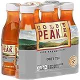 Gold Peak Tea, Diet, 16.9 Fluid Ounce (Pack of 6)