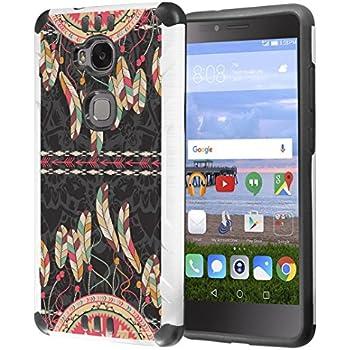 Amazon.com: T- Huawei Sensa Caso 4 G LTE kombatguard Flor ...