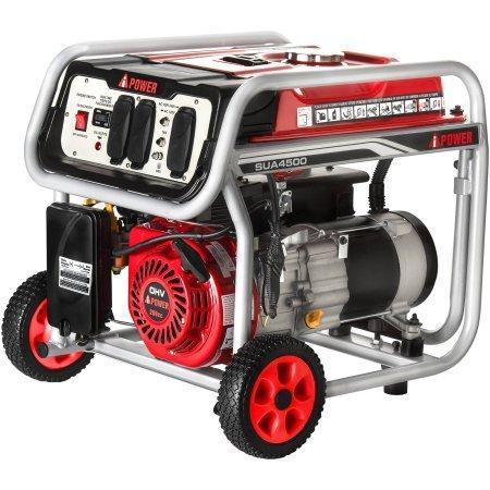 A-iPower 4500W Gasoline Powered Generator - 20 Kw Steam Generator