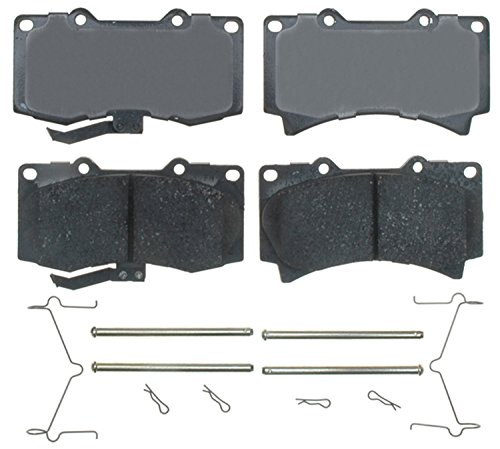 Price comparison product image ACDelco 17D1119CH Professional Ceramic Front Disc Brake Pad Set