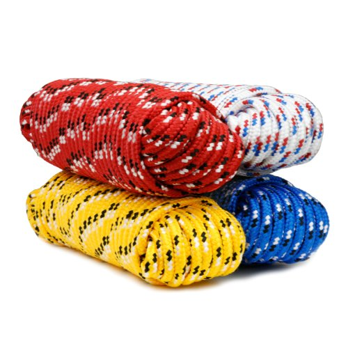 Koch Industries 5170624  Utility Rope, 1/2-Inch by 50-Feet, Assorted Colors, Assorted Colors, Hank