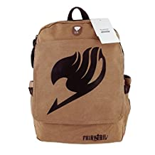 Seamand® Fairy Tail Backpack Anime Prime for School Cosplay for Teens