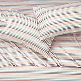 Amazon Basics Kids Rainbow Stripe Soft, Easy-Wash
