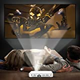 """Pico Projector Home Theater LED Projector Support 1080P 3D 150 LM Android 4.2 120"""" Display Pocket Projector with Real 2100mAh Built-in Battery, WIFI & HDMI"""