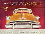 T Shirt Iron On 8 x 10 1954 Pontiac-Advertising