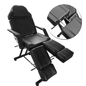 Silla de belleza reclinable portátil hidráulica masaje Spa sofá ...