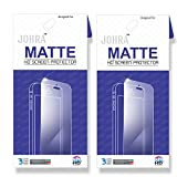 Johra For Motorola Moto E3 Power Matte HD Screen Scratch Protector For Moto E3 Power Screen Guard - Pack of 2