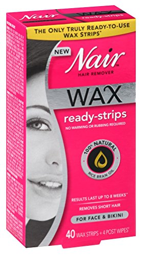 Nair Remover Ready Strips Count Bikini product image