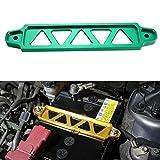 Dewhel JDM Billet Aluminum Battery Tie Down For Honda Civic Acura Rsx Ep3 Dc5 Si (Green)
