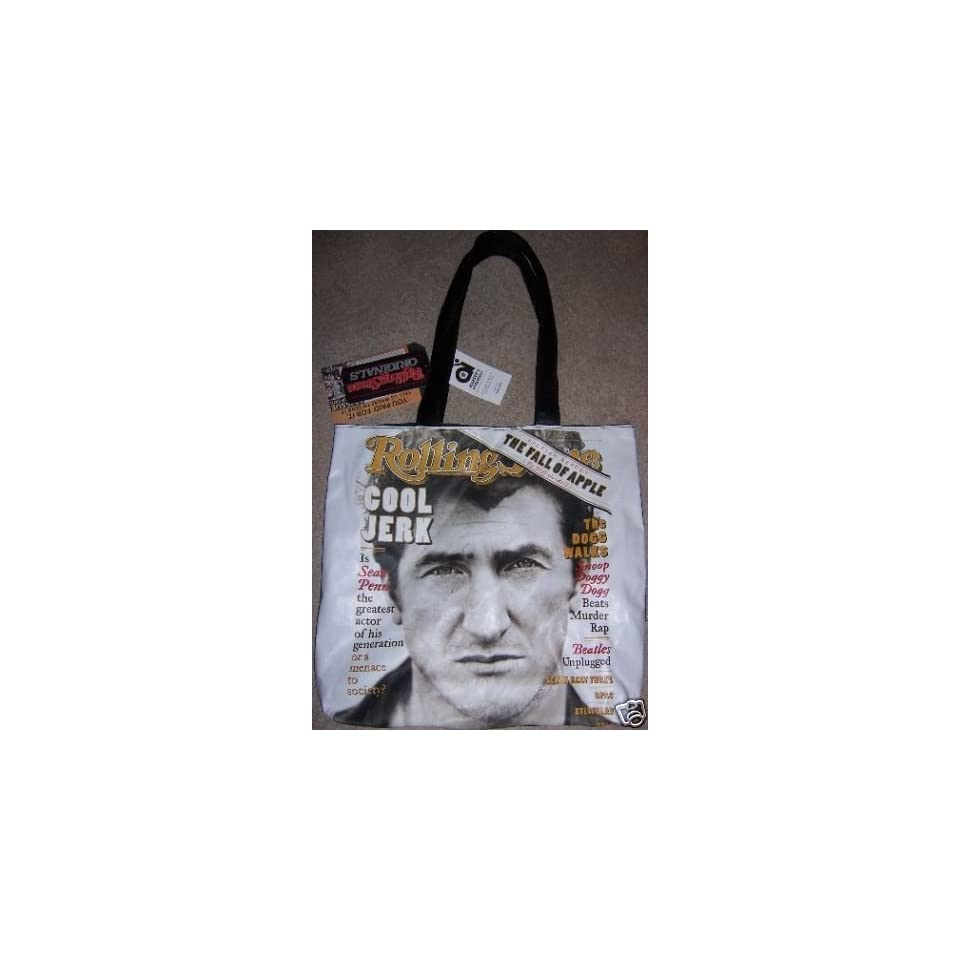 Sean Penn Rolling Stone Magazine Cover Limited Edition Tote Bag