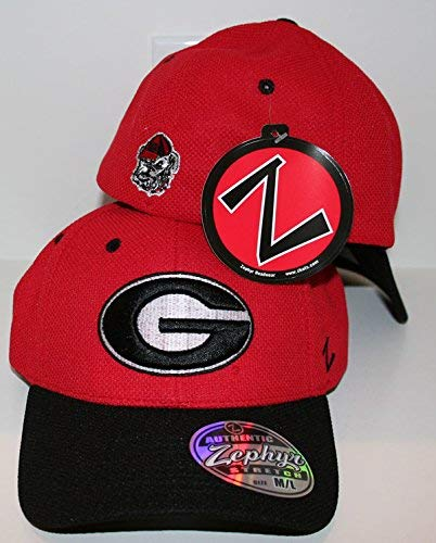 Amazon.com   ZHATS Georgia Bulldogs GA Red Jersey Mesh Adult Mens ... d3e08a4bd4a