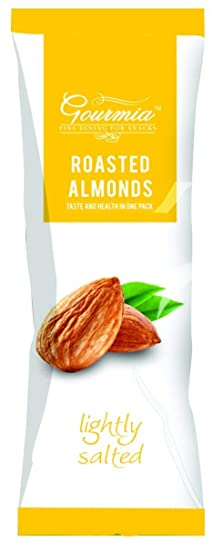 Gourmia Roasted Almonds, Lightly Salted, 40g