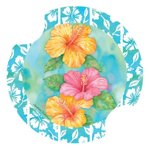 Thirstystone Hibiscus Garden Holder Coaster product image
