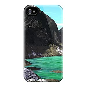 New Arrival Case Cover With IHRYijW4720fnPAW Design For Iphone 4/4s- Absynth Valley