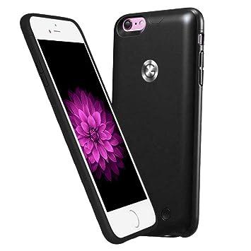 Roop iPhone 6 /6S recargable caso ultra slim carcasa con cargador con batería de alta capacidad para iPhone 6 /6S 2500mAh(4.7