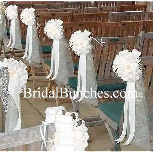 Beautiful Church Wedding Decorations: Church Pew Decorations: Amazon.com