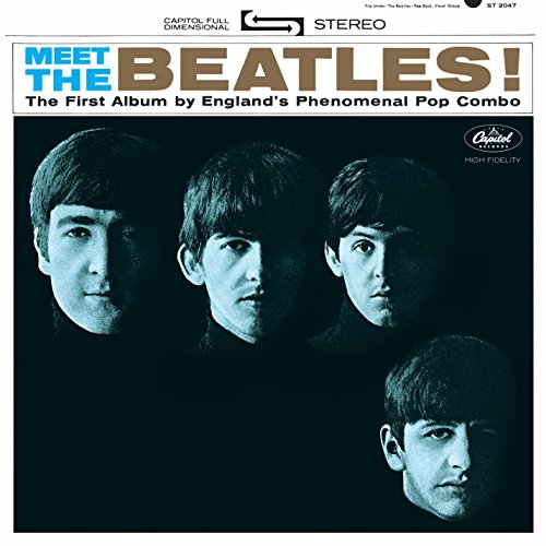 Image result for meet the beatles album cover