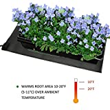 Features: Seedling heating mat is one of the most important and effective ways to improve germination and rooting. It increases the success of seedlings and cuttings by warming plant roots and maintaining a controlled temperature all season long. The...