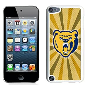 Beautiful And Popular Designed With NCAA Big Sky Conference Football Northern Colorado Bears 5 Protective Cell Phone Hardshell Cover Case For iPod 5 Phone Case White