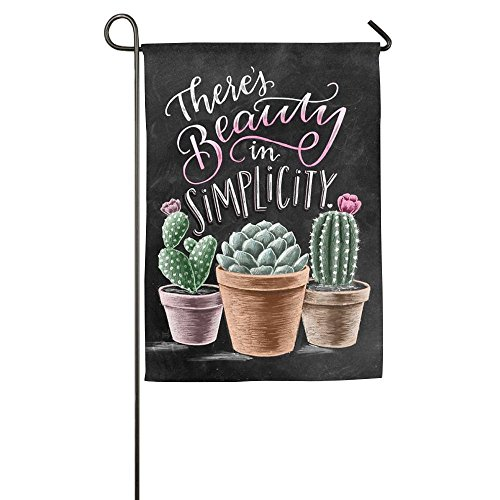 Bright Cactus And Quote Family Party Outdoor Yard House Gard