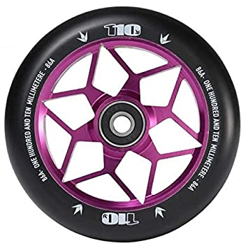 Blunt diamante 110 mm patinete rueda - morado: Amazon.es ...