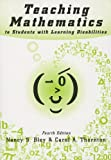 img - for Teaching Mathematics to Students With Learning Disabilities book / textbook / text book