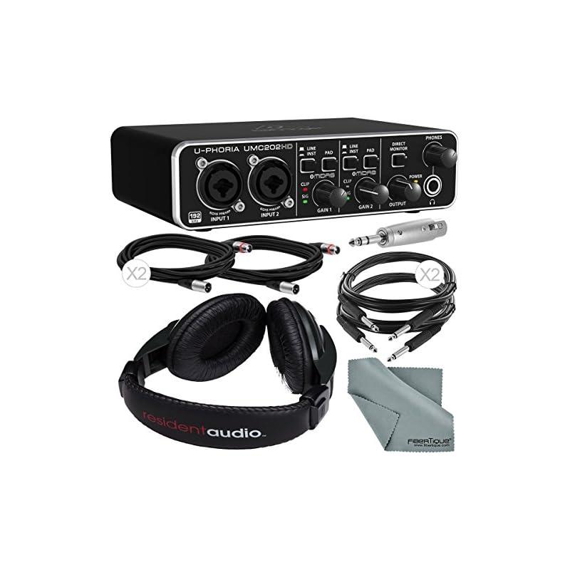 Behringer U-Phoria UMC202HD Audiophile 2