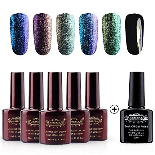 Perfect Summer Gel Nail Polish Chameleon Colors Changes UV L