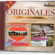 """LOS SOLITARIOS VOL.1 (EDICION LIMITADA) 2 EN 1 """"LOS ORIGINALES PEERLESS,EL RESCATE DE LA BUENA MUSICA""""."""