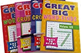 Word Search Puzzle Books Large Print: Word Find Large Print & Crossword Puzzle Easy