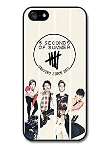 5 Seconds Of Summer Black Logo Collage Boyband case for iPhone 5 5S A5705