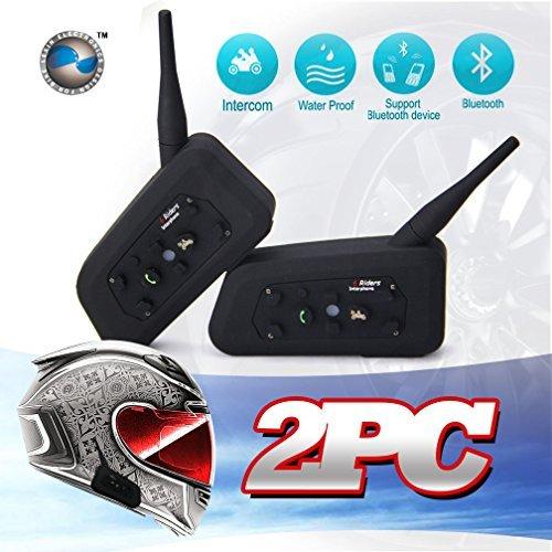 LEXIN® 2soportes de montaje de comunicación de presentación BT Bluetooth moto de la motocicleta casco de comunicación...