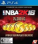 NBA 2K16 - 75,000 VC - PlayStation 4...