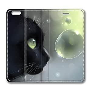 iPhone 6 Leather Case, Personalized Protective Flip Case Cover Face To Face for New iPhone 6