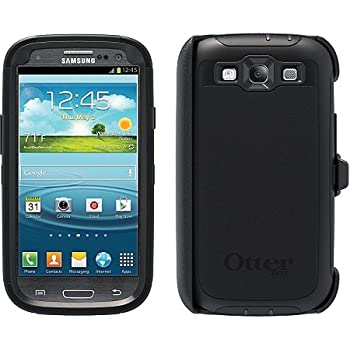 OtterBox Defender Series for Samsung Galaxy S III - Retail Packaging - Black