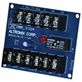 ALTRONIX RBR1224 ELECTRONIC TOGGLE/RATCHET RELAY,12VDC to 24VDC