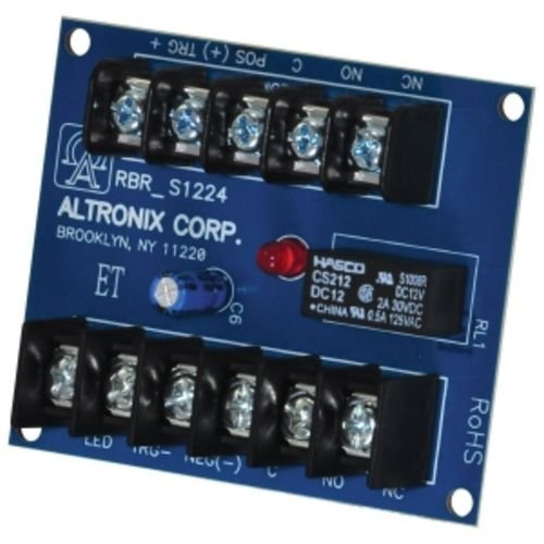 ALTRONIX RBR1224 ELECTRONIC TOGGLE/RATCHET RELAY,12VDC to 24VDC by Altronix
