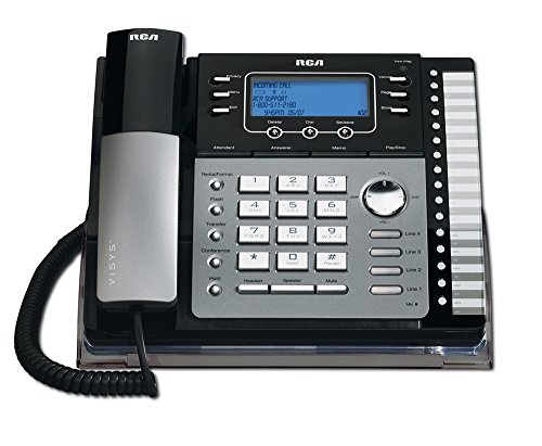 RCA 25425RE1 na 1-Handset 4-Line Landline Telephone (Rca Clothing)