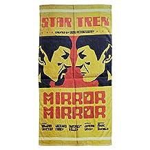 Star Trek The Original Series: Spock Mirror Mirror Cotton Beach Towel