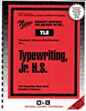 Typewriting, Jr. H. S., Rudman, Jack, 0837380634