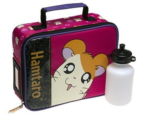 Hamtaro Soft Lunch Kit - Pink