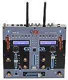 QFX MX-3P PROFESSIONAL 2 CHANNEL MIXER
