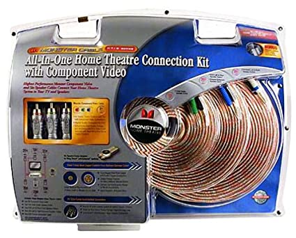 amazon com monster cable htib cv kit home theater in a boxHome Theater Wiring Kit #16