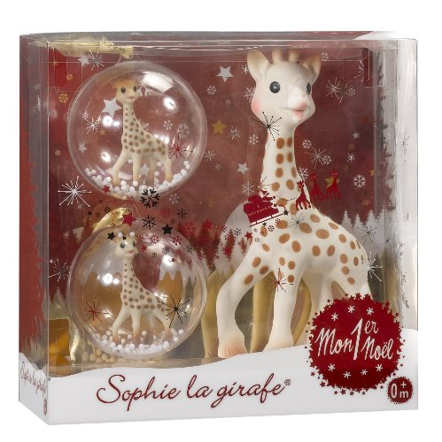 Sophie la Girafe My First Christmas Teether Gift Set by Sophie La Girafe