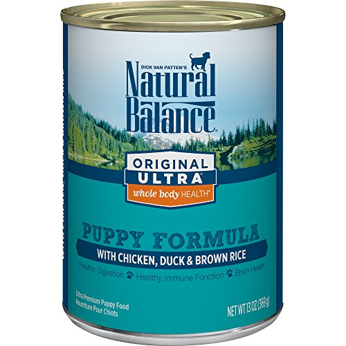 Natural Balance Puppy Formula Canned Wet Dog Food, Original