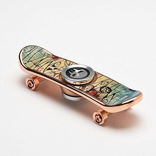 Grand Gopher Fidget Spinner Finger Skateboard Rose Gold Mummy