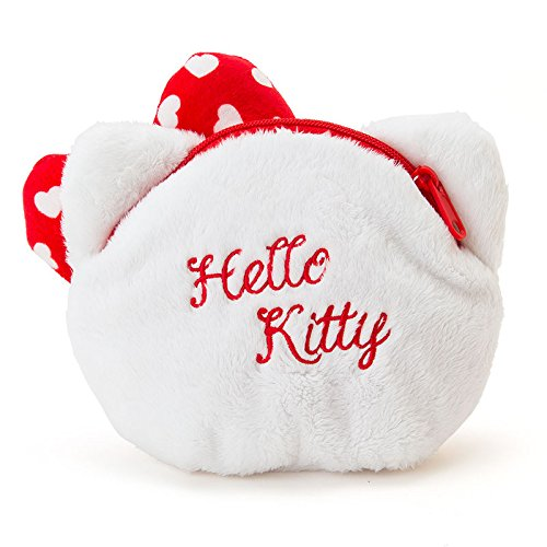 Hello Kitty Pouch White /& Red sanrio 214701