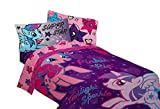 My Little Pony Twin Size Sheets Set - The Stars are Out - Rainbow Dash, Twilight Sparkle, Pinkie Pie, Rarity